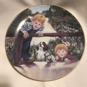 Hackett American Daisies for Mother Plate